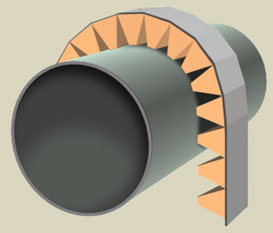 Flexible Duct Support